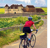 Chablis and Burgundy biking photo